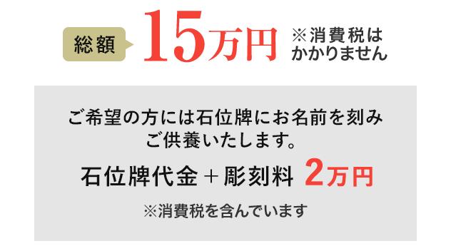 総額17万円